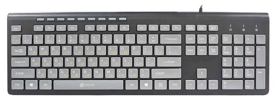 Купить <b>Клавиатура OKLICK 480M</b>, <b>черный</b> в интернет-магазине ...
