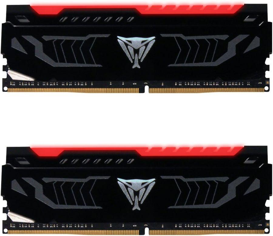Модуль памяти PATRIOT Viper LED PVLR416G300C5K DDR4 -  2x 8Гб 3000, DIMM,  Ret