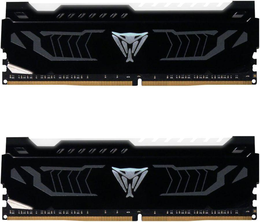 Модуль памяти PATRIOT Viper LED PVLW416G320C6K DDR4 -  2x 8Гб 3200, DIMM,  Ret