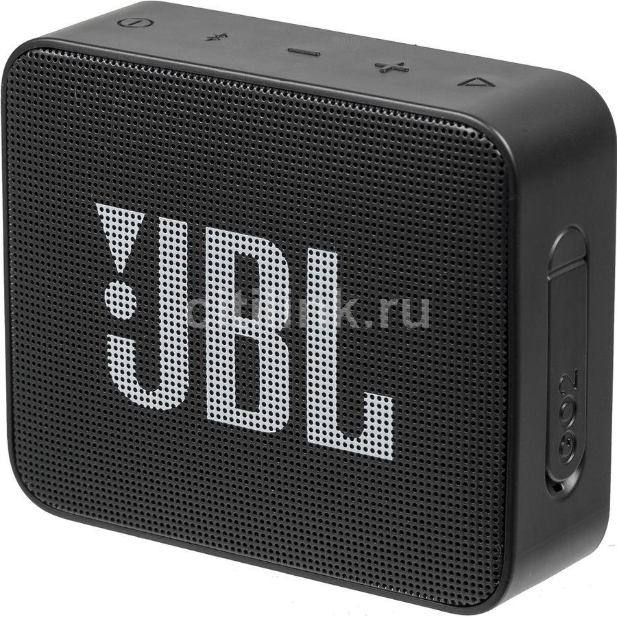 Портативная колонка JBL GO 2,  3Вт, черный