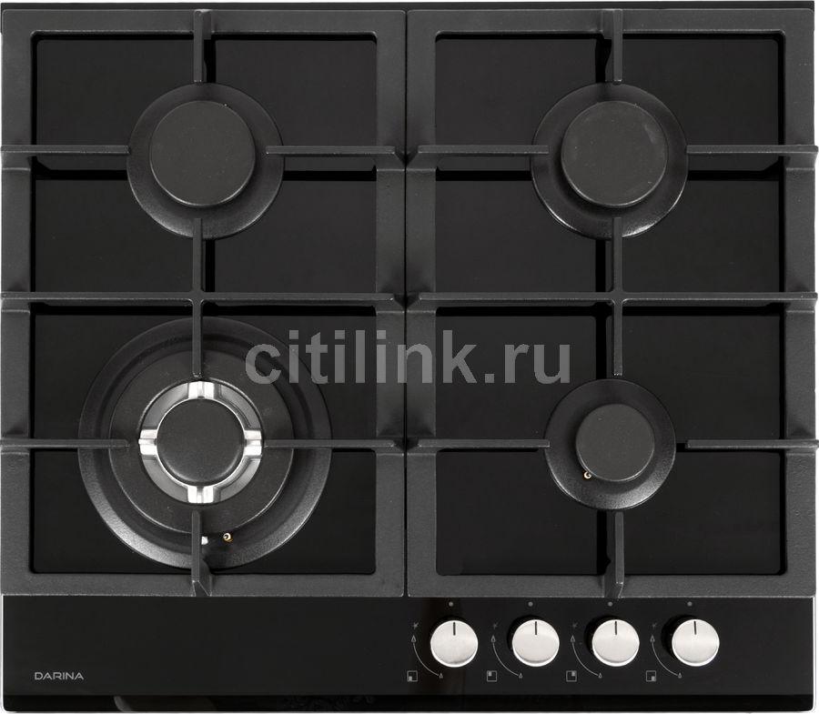 Варочная панель DARINA 1T3 C 308 B,  независимая,  стекло черное