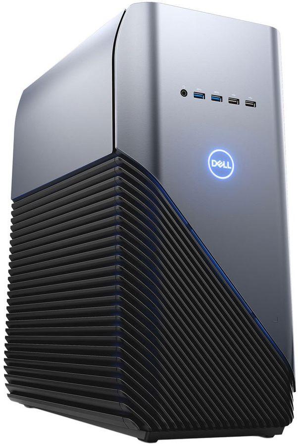 Компьютер  DELL Inspiron 5680,  Intel  Core i7  8700,  DDR4 16Гб, 2Тб,  128Гб(SSD),  NVIDIA GeForce GTX 1060 - 6144 Мб,  DVD-RW,  Windows 10 Home,  серебристый и черный [5680-8137]