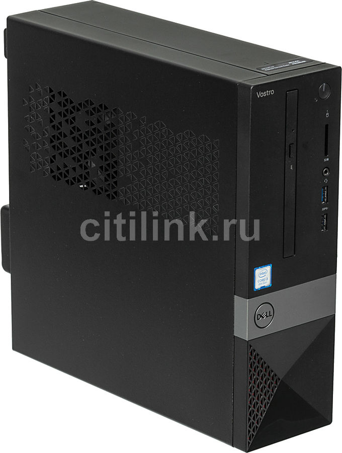 Компьютер  DELL Vostro 3470,  Intel  Core i3  8100,  DDR4 4Гб, 1000Гб,  Intel UHD Graphics 630,  DVD-RW,  CR,  Windows 10 Home,  черный [3470-0915]