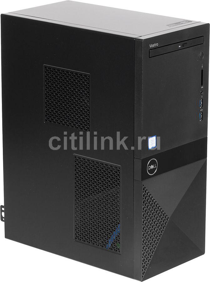 Компьютер  DELL Vostro 3670,  Intel  Core i3  8100,  DDR4 4Гб, 1000Гб,  Intel UHD Graphics 630,  DVD-RW,  CR,  Windows 10 Home,  черный [3670-0946]