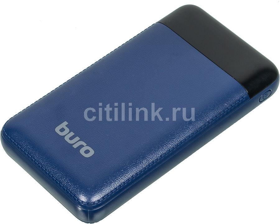 Внешний аккумулятор (Power Bank) BURO RC-16000-DB,  16000мAч,  темно-синий