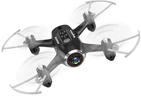 Квадрокоптер SYMA X22W с камерой,  черный