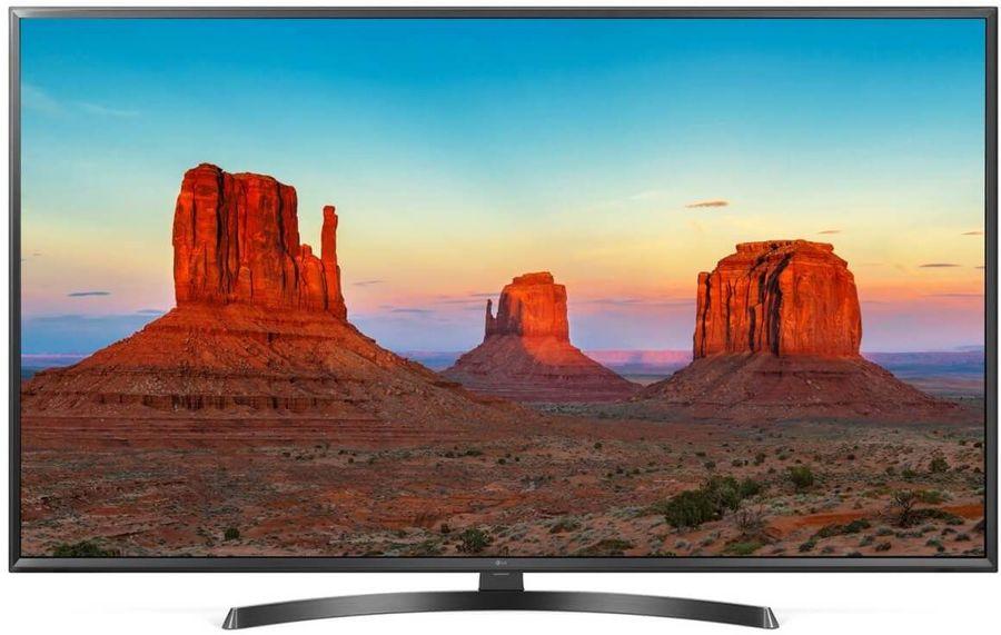 """LED телевизор LG 49UK6450PLC  """"R"""", 49"""", Ultra HD 4K (2160p),  черный"""