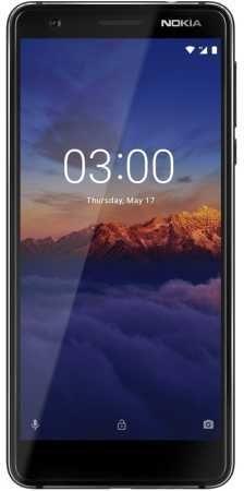 Смартфон NOKIA 3.1,  черный