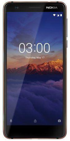 Смартфон NOKIA 3.1,  синий
