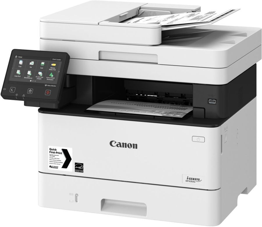 МФУ лазерный CANON i-Sensys MF426dw,  A4,  лазерный,  белый [2222c038]