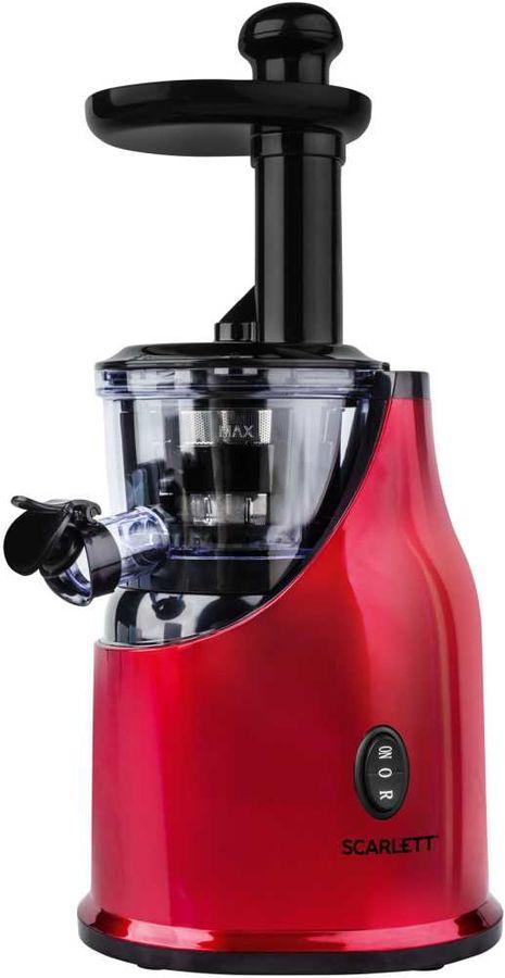 Соковыжималка SCARLETT SC-JE50S33,  центробежная,  красный [sc - je50s33]