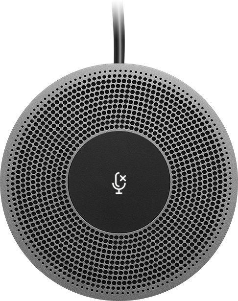 Микрофон LOGITECH MeetUp,  черный [989-000405]