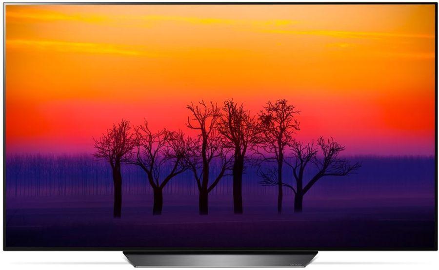 "OLED-телевизор LG OLED65B8PLA  ""R"", 65"", Ultra HD 4K (2160p),  черный/ серебристый"