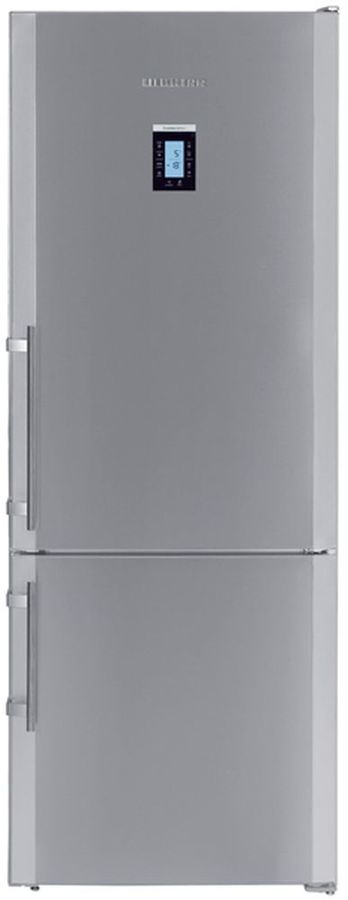 Холодильник LIEBHERR CNPesf 5156,  двухкамерный, нержавеющая сталь