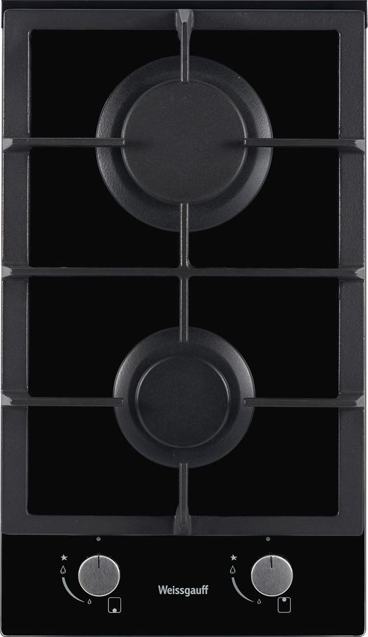 Варочная панель WEISSGAUFF HGG 302 BGh,  независимая,  черный