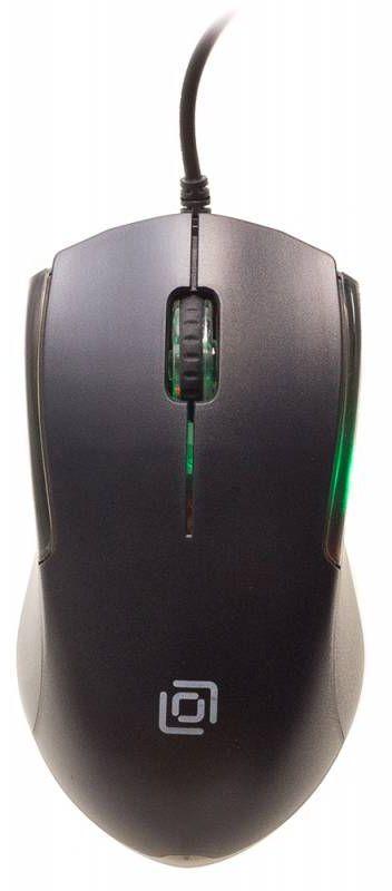 Мышь OKLICK 245M EU, оптическая, проводная, USB, черный
