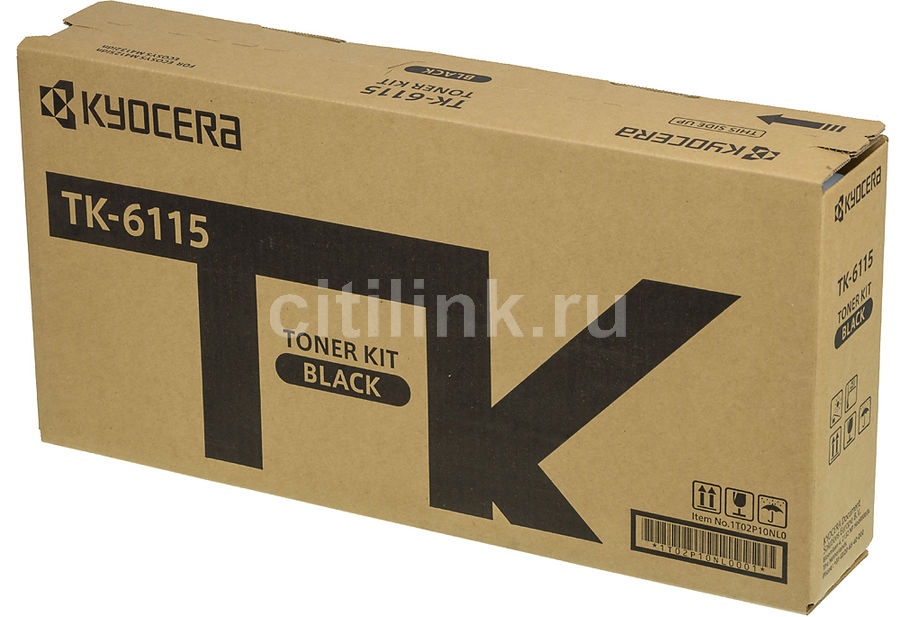Картридж KYOCERA TK-6115, черный