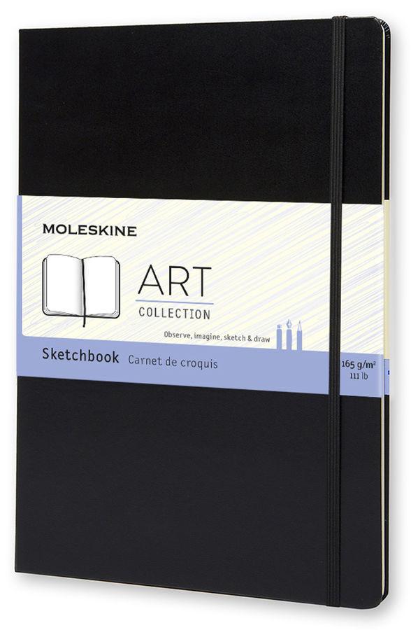 Блокнот для рисования Moleskine CLASSIC Sketchbook A4 96стр. твердая обложка черный