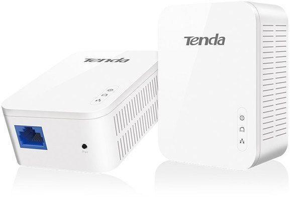 Сетевой адаптер PowerLine/WiFi TENDA PH3 Ethernet,  2 шт.