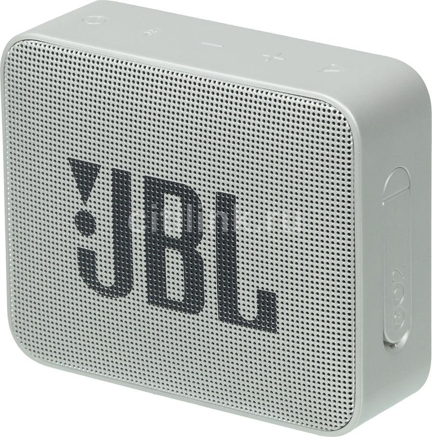 Портативная колонка JBL GO 2,  3Вт, серый  [jblgo2gry]