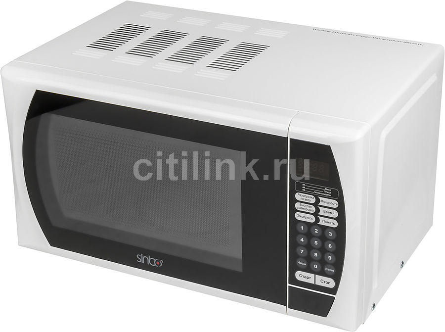 Микроволновая Печь Sinbo SMO 3658 20л. 700Вт белый/черный