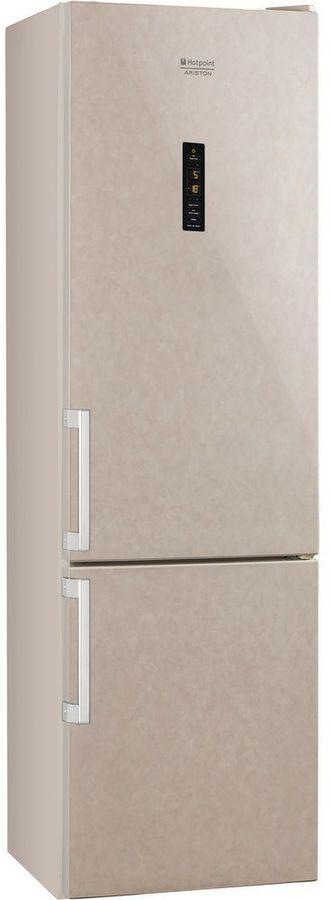 Холодильник HOTPOINT-ARISTON HFP 8202 MOS,  двухкамерный, бежевый [153414]