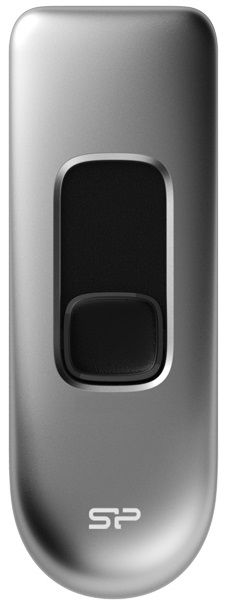 Флешка USB SILICON POWER Marvel M70 32Гб, USB3.0, серебристый [sp032gbuf3m70v1s]