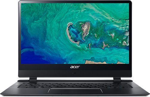 "Ультрабук ACER Swift 7 SF714-51T-M3AH, 14"",  IPS, Intel  Core i7  7Y75 1.3ГГц, 8Гб, 256Гб SSD,  Intel HD Graphics  615, Windows 10 Professional, NX.GUHER.002,  черный"
