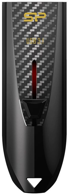 Флешка USB SILICON POWER Blaze B25 32Гб, USB3.0, черный [sp032gbuf3b25v1k]