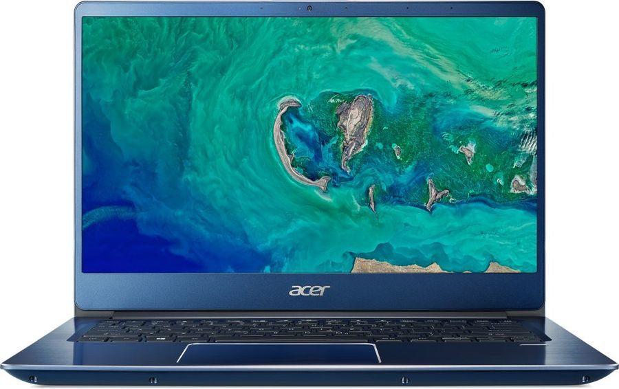 "Ультрабук ACER Swift 3 SF314-54-88QB, 14"",  IPS, Intel  Core i7  8550U 1.8ГГц, 8Гб, 256Гб SSD,  Intel UHD Graphics  620, Windows 10 Home, NX.GYGER.003,  синий"