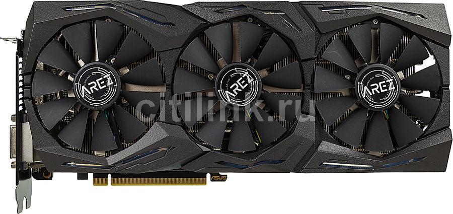 Видеокарта ASUS AMD  Radeon RX 580 ,  AREZ-STRIX-RX580-O8G-GAMING,  8Гб, GDDR5, OC,  Ret