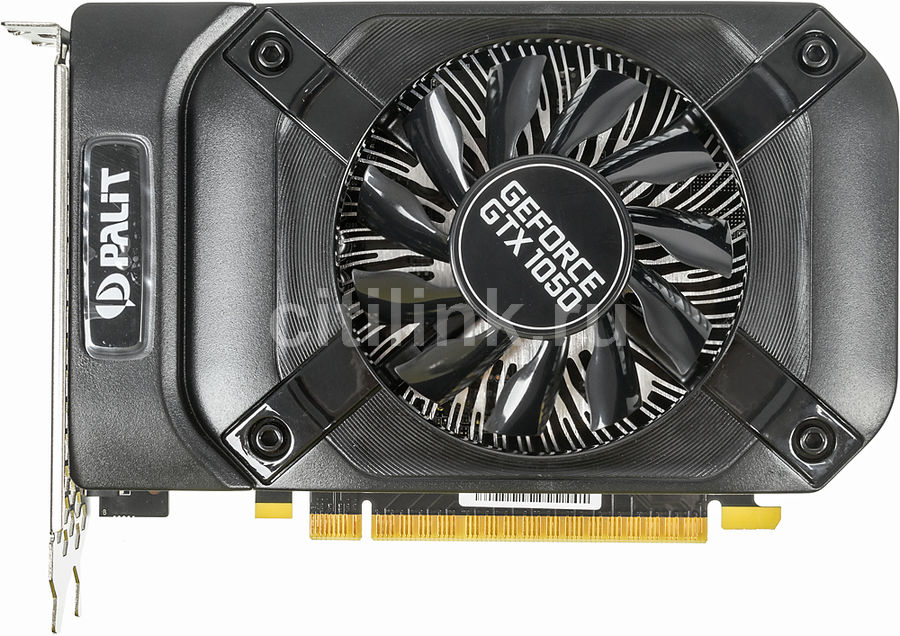 Видеокарта PALIT nVidia  GeForce GTX 1050 ,  PA-GTX1050 StormX 3G,  3Гб, GDDR5, Ret [ne51050018fe-1070f]