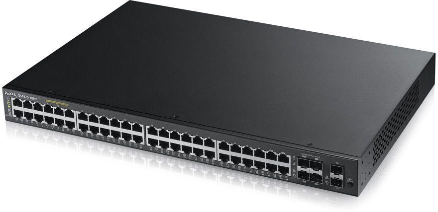 Коммутатор ZYXEL GS1920-48HP, GS1920-48HP-EU0101F