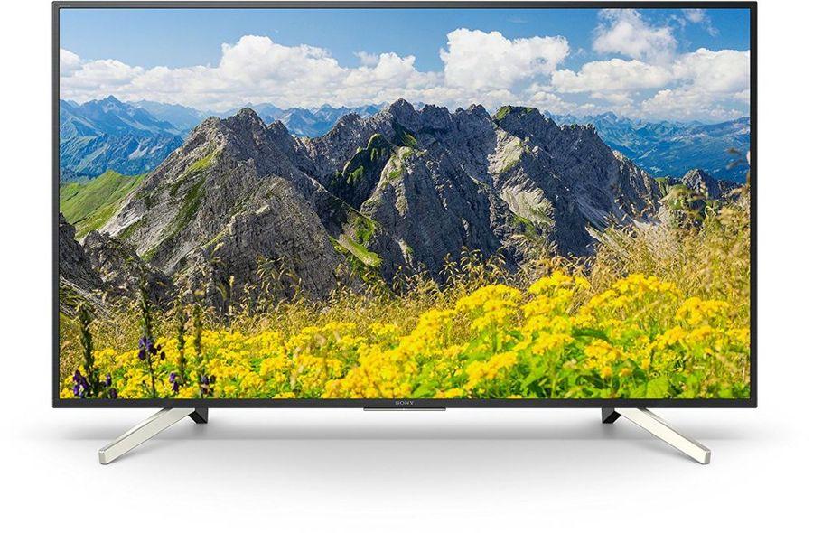 """LED телевизор SONY KD55XF7596BR2  55"""", Ultra HD 4K (2160p),  черный/ серебристый"""