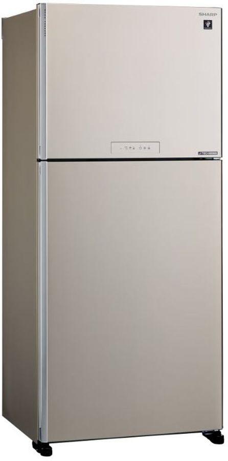 Холодильник SHARP SJ-XG55PMBE,  двухкамерный, бежевый