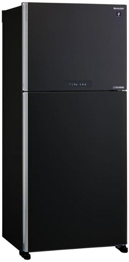 Холодильник SHARP SJ-XG55PMBK,  двухкамерный, черный