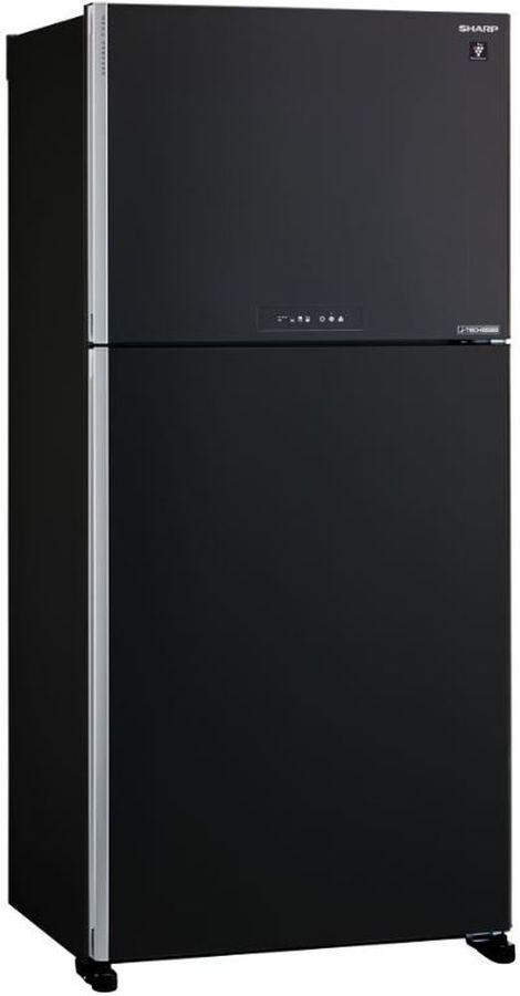 Холодильник SHARP SJ-XG60PMBK,  двухкамерный, черный