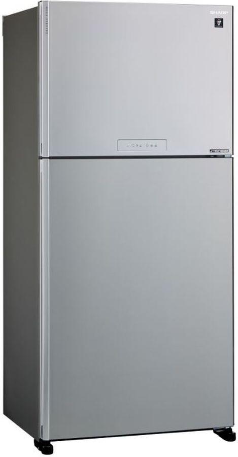 Холодильник SHARP SJ-XG60PMSL,  двухкамерный, серебристый