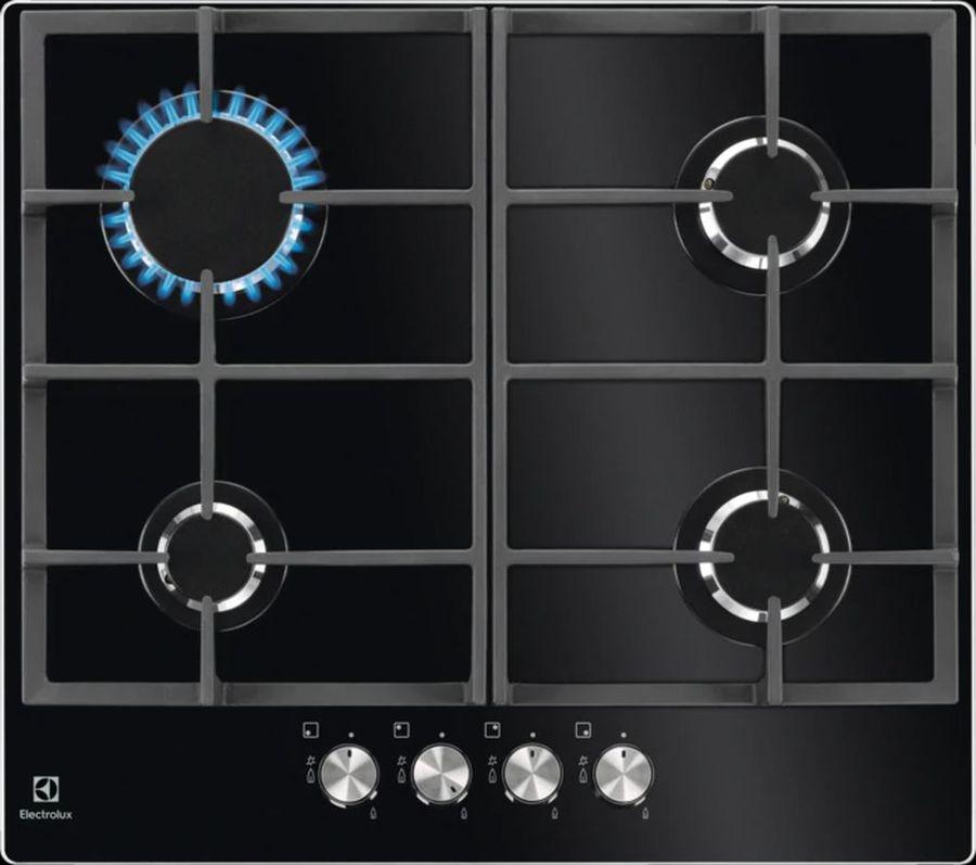 Варочная панель ELECTROLUX GPE263YK,  независимая,  черный