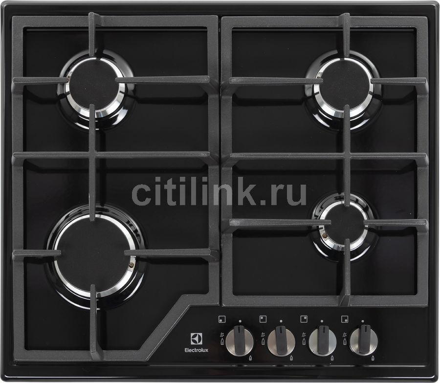 Варочная панель ELECTROLUX GPE263MB,  независимая,  черный
