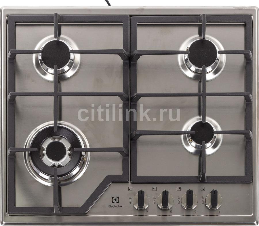 Варочная панель ELECTROLUX GPE363MX,  независимая,  нержавеющая сталь