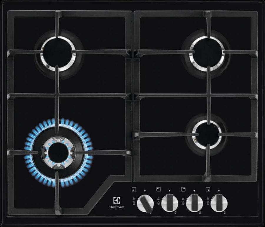 Варочная панель ELECTROLUX GPE363MB,  независимая,  черный