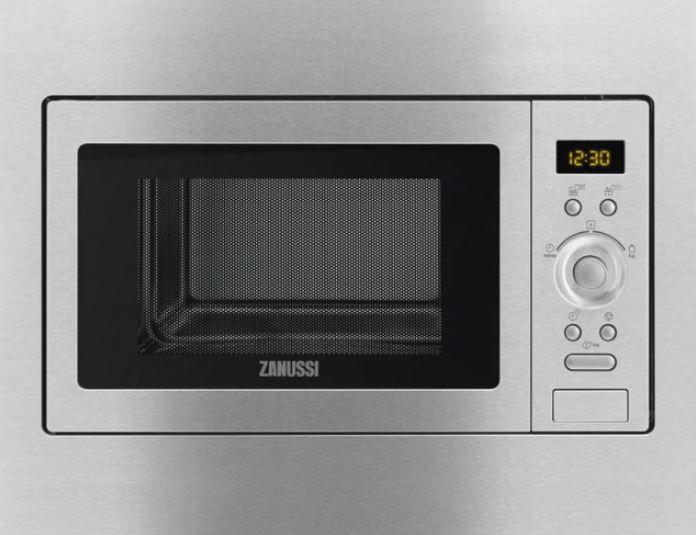 Микроволновая Печь Zanussi ZSC25259XA 23л. 900Вт нержавеющая сталь (встраиваемая)