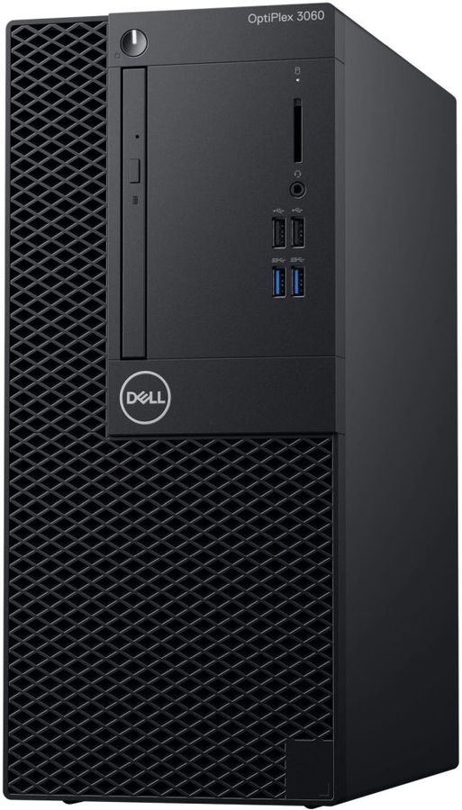 Компьютер  DELL Optiplex 3060,  Intel  Core i5  8500,  DDR4 8Гб, 1000Гб,  Intel UHD Graphics 630,  DVD-RW,  Linux,  черный [3060-7489]