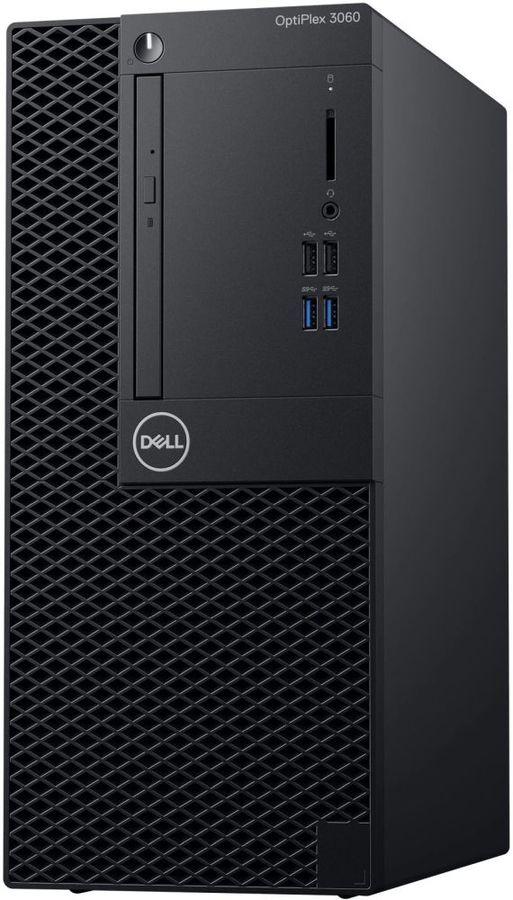 Компьютер  DELL Optiplex 3060,  Intel  Core i5  8500,  DDR4 8Гб, 1000Гб,  Intel UHD Graphics 630,  DVD-RW,  Windows 10 Professional,  черный [3060-7496]