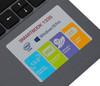 "Ноутбук PRESTIGIO SmartBook 133S, 13.3"",  IPS, Intel  Celeron  N3350 1.1ГГц, 3Гб, 32Гб eMMC,  Intel HD Graphics  500, Windows 10 Professional, PSB133S01ZFP_DG_CIS,  темно-серый вид 13"