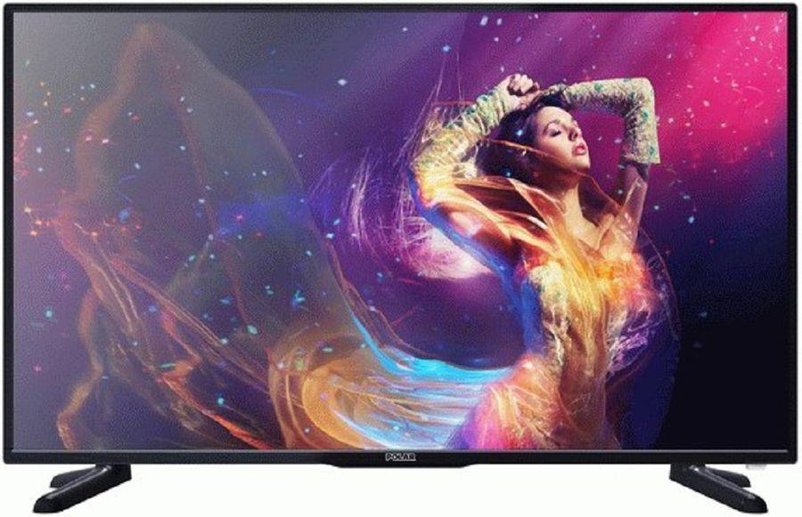 "LED телевизор POLAR P43L31T2C  ""R"", 43"", FULL HD (1080p),  черный"