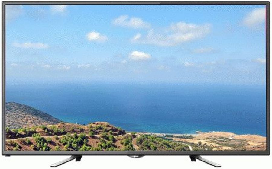 "LED телевизор POLAR P55L21T2CSM  ""R"", 55"", Ultra HD 4K (2160p),  черный"