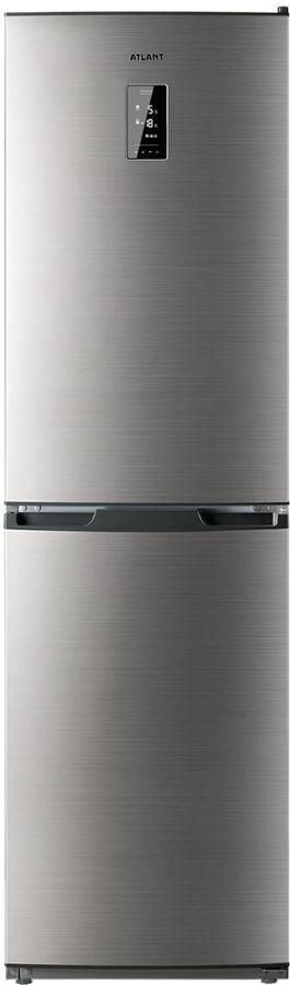 Холодильник АТЛАНТ 4425-049-ND,  двухкамерный, нержавеющая сталь