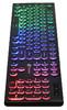 Клавиатура OKLICK 410MRL,  USB, черный вид 5
